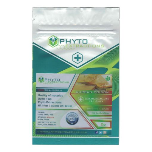 phyto extractions durban poison